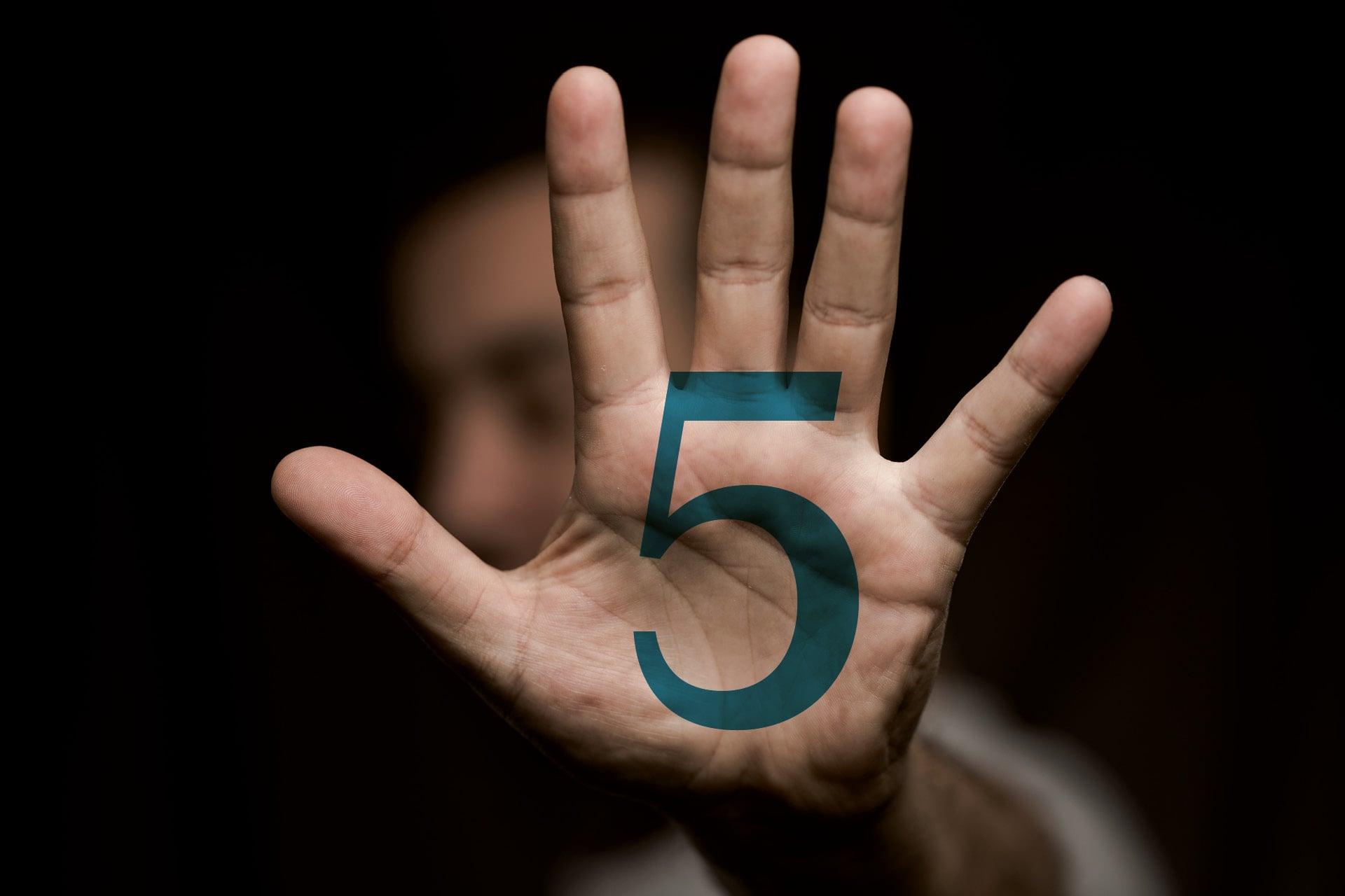 Emeperor Hand 5cm