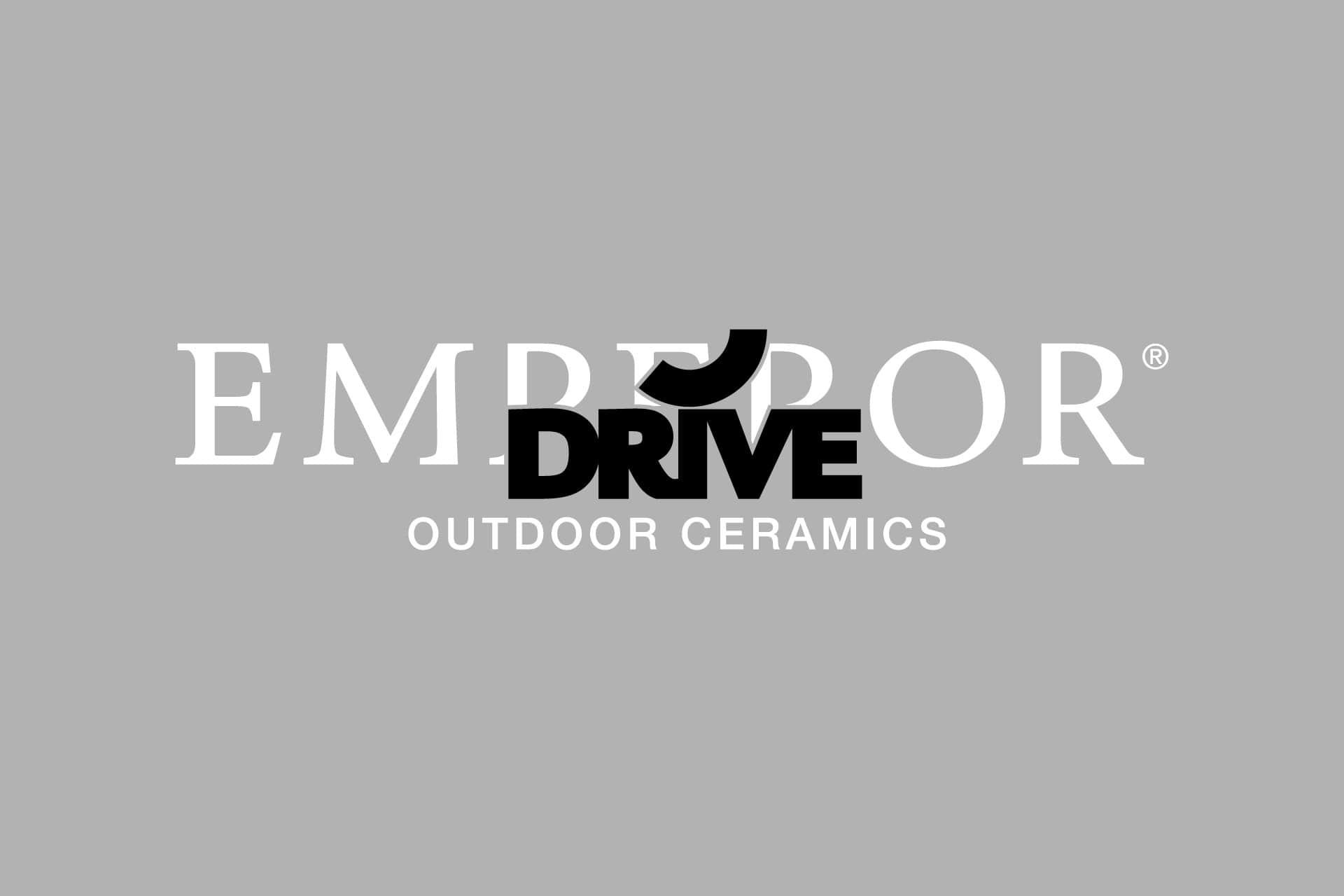 Emperor Drive outdoor caramics logo